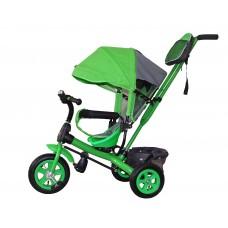 Детский велосипед «Лучик Виват» надувные колеса зеленый