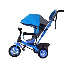 Детский велосипед «Лучик Виват» надувные колеса голубой