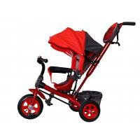 Детский велосипед «Лучик Виват» надувные колеса красный