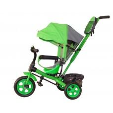 Детский велосипед «Лучик Виват» EVA колеса зеленый
