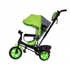 Детский велосипед «Лучик Виват» EVA колеса салатовый