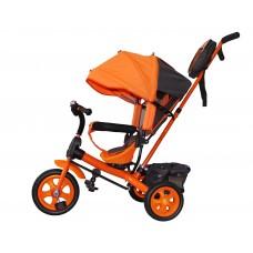 Детский велосипед «Лучик Виват» EVA колеса оранжевый