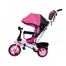 Детский велосипед «Лучик Виват» EVA колеса розовый