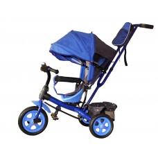Детский велосипед «Лучик Виват» EVA колеса синий