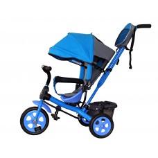 Детский велосипед «Лучик Виват» EVA колеса голубой