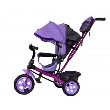Детский велосипед «Лучик Виват» EVA колеса фиолетовый