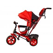 Детский велосипед «Лучик Виват» EVA колеса красный