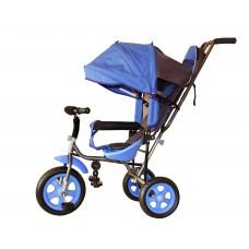 Трехколесный велосипед «Лучик Малют» синий
