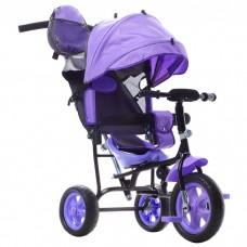 Трехколесный велосипед «Лучик Малют» фиолетовый
