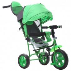 Трехколесный велосипед «Лучик Малют» зеленый