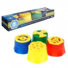 Краски пальчиковые с крупными штампами 1005272