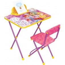 Комплект детской мебели «Винкс. Азбука» моющееся сиденье (арт. В2А)