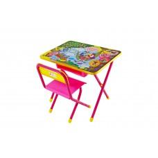 Набор мебели №2 Попугай Кеша розовый