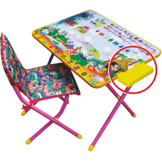 Набор мебели №3 Лимпопо розовый