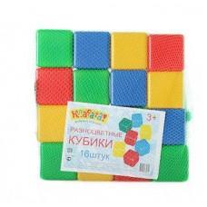 Набор Кубиков 16 шт 1402