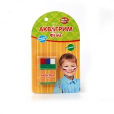 Аквагрим мелки 3 цвета Флаг AG3М11
