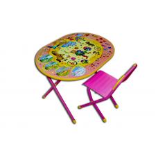 Набор мебели овал Цирк розовый №у3-01