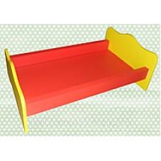 Кроватка для кукол деревянная 50х30х16 см (арт. ИО-103)