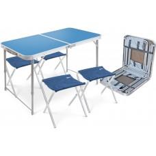 Складные стол + 4 стула (арт. ССТ-К)