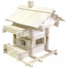 Конструктор деревянный Разборный домик (арт. С32)
