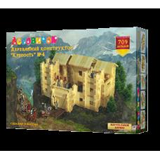 Деревянный конструктор «Крепость» №4 (арт. les020)