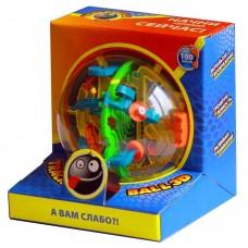 Шар-лабиринт Track Ball 3D 13 см 100 ходов (арт. ТБ13)