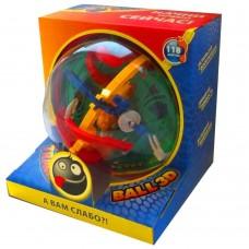 Шар-лабиринт Track Ball 3D 17 см 118 ходов (арт. ТБ17)