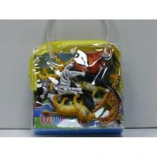 Набор дикие животные 12 шт в сумке РВ2103