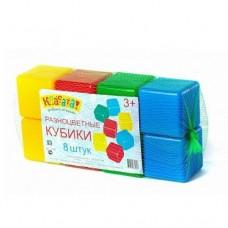 Набор Кубиков 8 шт 1400