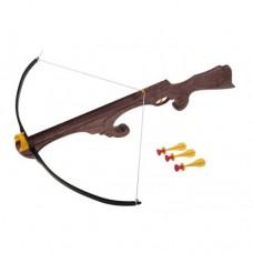 Арбалет Викинг большой с тремя стрелами на присосках 099
