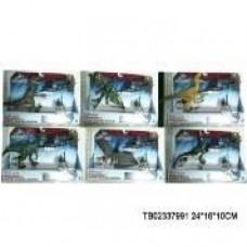 Игровой набор с динозаврами AD875