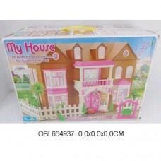 Дом деревянный с мебелью 0959