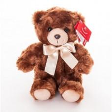 AURORA Игрушка мягкая Медведь коричневый сидячий 20 см 91-650