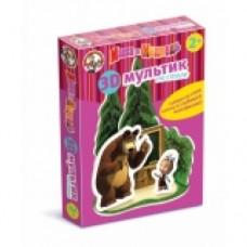 3D мультик на столе Школа Маша и медведь 01436 ДК