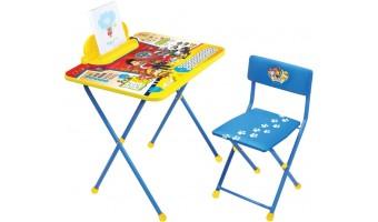 Комплекты детской мебели со столом и стулом