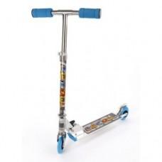 Самокат двухколесный 100 мм PVC X-Match синий 64657